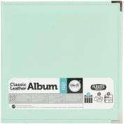 Mint Classic Leather 8.5x11 Ring Album