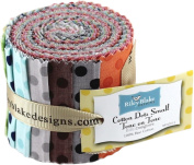 Cotton Dots Small Tone on Tone Rolie Polie by Riley Blake Designs SKU# RP-420-11