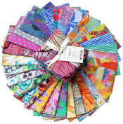 Kaffe Fassett COLLECTIVE VIVID Fat Quarter Bundle 30 Precut Cotton Fabric Quilting FQs Assortment Westminster Fibres FB1FQGP.VIVID