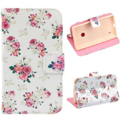 Nokia Lumia Case, Shensee Fashion Floral Jacquard Stand Flip Soft Leather Cover Case for Nokia Lumia 520, Card Holder Bank Credit Cards Wallet