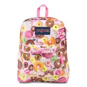 JanSport SuperBreak School Backpack - MULTI DONUTS