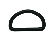 Generic Metal Black D Rings Buckle D-Rings 3cm Inside Diameter for Backpack Bag Pack of 15