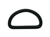 Generic Metal Black D Rings Buckle D-Rings 3cm Inside Diameter for Backpack Bag Pack of 15