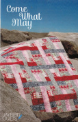 Come What May by Jaybird Quilts Ideal for Large & Small Scale Prints in 3 Sizes