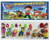 8 Pcs Tv Paw Patrol Figures Toys Play Set Plastic Puppy Patrol Doll Action Paw Patrol Pup Buddies Figures Toys Anime Figure