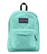 JanSport SuperBreak School Backpack - Aqua Dash