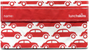 Lunchskins Reusable Snack Size Bag, Red Car