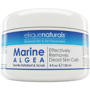 Sea Algae Scrub And Sea Algae Hair Mask - With Vitamin C, CoQ10 And Alpha Lipoic Acid. Sea Algae Best Facial Scrub Gently And Effectively Removes Dead Skin Cells. Also Used As A Sea Algae Hair Mask. Replenishes Vital Nutrients For Natural, Radiant And ..