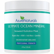 ULTIMATE Seaweed Hydration Mask with over 90 powerful Oceanic Minerals, micro minerals, vitamins and vital nutrients help repair, rejuvenate and deeply nourish your skin, giving it a healthier, more youthful glow. This amazing mask is a proud part of o ..