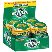 Eclipse Gum Spearmint BigEpak - (2) 60 piece pks. - 4 ct.