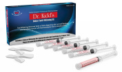 Professional Teeth Whitening Kit by Dr. Kidd- Complete Whitener System -Includes Teeth Whitening Trays and Desensitising Gel Kit for Sensitive Teeth