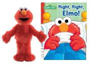 GUND Sesame Street Plush Elmo with Night, Night Book