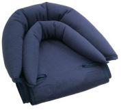 Knit Double Headrest - Navy