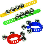 Halilit Wrist and Ankle Bells (Colours may vary) by HALILIT