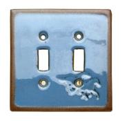 Iwgac Home Indoor Montana Silversmith Fusion Horse Double Switchplate