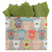 The Gift Wrap Company Recycled Vogue Gift Bags, Onesies