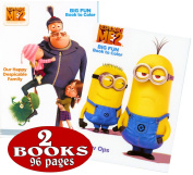 Despicable Me Colouring and Activity Book Set
