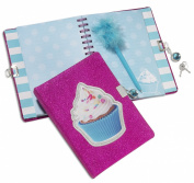 3C4G Cupcake Locking Diary