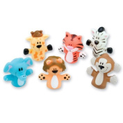 Animal Finger Puppets - 48 per pack
