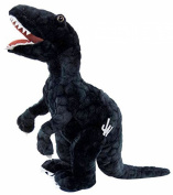 Plush - Jurassic World - Velociraptor 30cm Blue Soft Doll Toys New