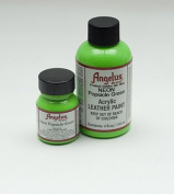 Angelus Acrylic Leather Paint- 30ml- Popsical Green