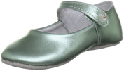 Rachel Riley Kids Metallic Button Strap Slippers Rrshoe1ame Special Occasion Shoe