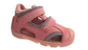 GIRLS ELEFANTEN INFANT NUBUCK LEATHER VELCRO SANDALS SIZE 4-7