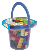 Adriatic 16 x 15 cm Home Toys Bucket with Bricks