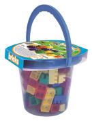Adriatic 16 x 15 cm Home Toys Bucket with Bricks