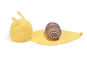 KingWinX Baby Snail Costume for Taking Photos, Purple