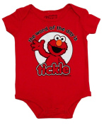 Sesame Street Elmo Word Of The Day Cartoon Baby Creeper Romper Snapsuit