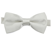 Homgaty Children Boys Adjustable Bow Tie Satin Bowtie Neck Tie Double Layer Weddings Parties Dinner Suits Wear