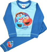 Boys Cbeebies Furchester Hotel Blue Pyjamas Size 18 Months to 5 Years