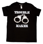 Trouble Maker Handcuffs Tiny T-Shirt Toddler Tee