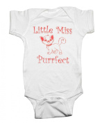 Little Miss Purrfect Baby Snapsuit Creeper Romper