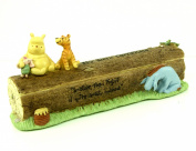 Disney Christening Winnie The Pooh Birth Certificate Holder