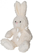 Mumbles Children Plush Soft Toy Stuffed Animals Rabbit With Ribbon Cream