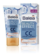Balea Beauty Effect CC Cream for light to medium skin-tones (with 8-in-1 Effect and SPF 20)- 50ml