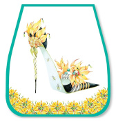 Head Over Heels Mirror - Yellow Shoe - Jean Barrington