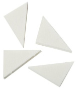 Hive 50X Cosmetic Makeup Facial Sponge Wedges Pack Triangle Foundation CODE