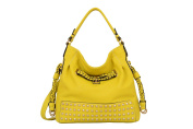 Mellow World Fashion Hobo Manhattan, Citron, One Size