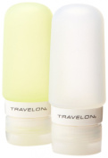 Travelon Set Of 2 Smart Tubes, 60ml, Green/Clear, One Size