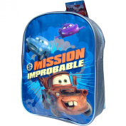 Boys Disney Pixar Cars Mission Improbable School Travel Backpack Bag