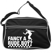 Fancy A Rude Boy Messenger Bag Ska 2 Tone Specials Madness FREE UK Postage