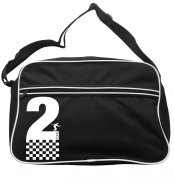 2 Tone With Cheques And Dancer Messenger Bag Ska 2 Tone Specials Madness FREE UK Postage