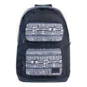 ANIMAL Women's/Girl's Crescent Laptop Rucksack Backpack Bag in Black/White