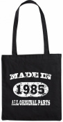 Mister Merchandise Tote Bag Made in 1985 All Original Parts 20 21 Shopper Shopping , Colour