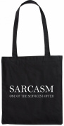 Mister Merchandise Tote Bag Sarcasm - One of the Services I offer Sarkasmus Shopper Shopping , Colour