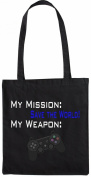 Mister Merchandise Tote Bag My Mission