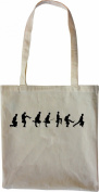 Mister Merchandise Tote Bag Silly Walks Walk Python British Shopper Shopping , Colour